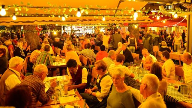 Restaurant und Biergarten
