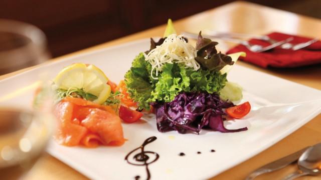 Kulinarische Schmankerl im Restaurant